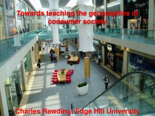 Charles Rawding: Edge Hill University