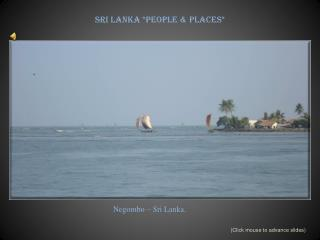 Sri Lanka *People & Places*