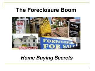 The Foreclosure Boom