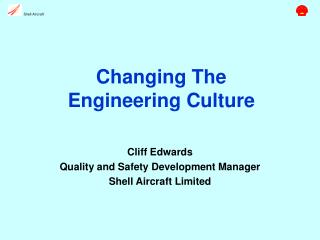 Changing The Engineering Culture