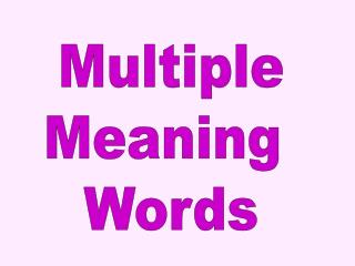 Multiple