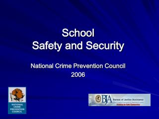 School Safety and Security