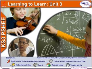 Learning to Learn: Unit 3