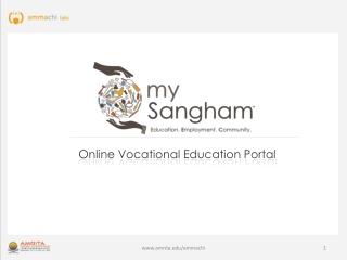 Online Vocational Education Portal