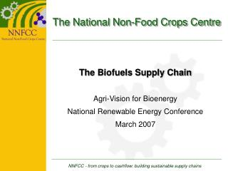 The National Non-Food Crops Centre