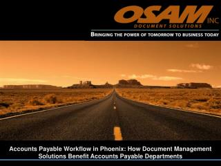 accounts payable workflow in phoenix:   how document managem