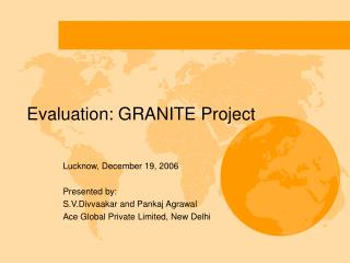 Evaluation: GRANITE Project