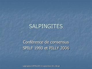 SALPINGITES