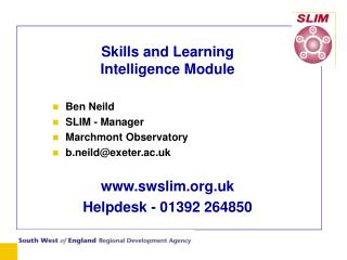 Skills and Learning  Intelligence Module
