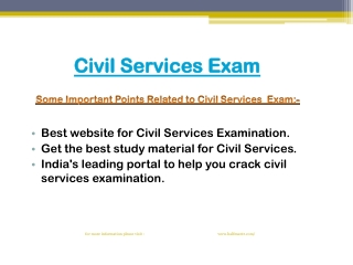 The best way to prepare for Civil Services Exam
