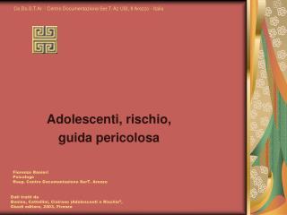 Ce.Do.S.T.Ar. - Centro Documentazione Ser.T. Az USL 8 Arezzo - Italia