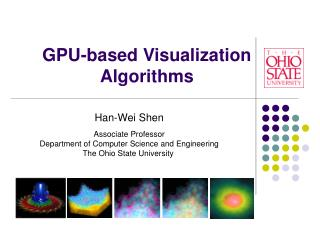 GPU-based Visualization Algorithms