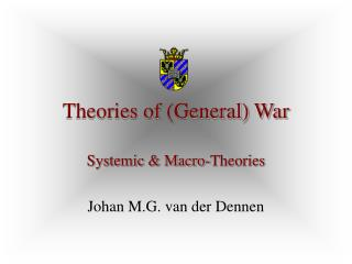 Theories of (General) War