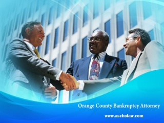 Orange County Bankruptcy Attorney