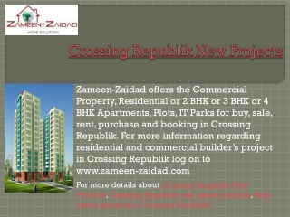 Crossing Republik New Projects