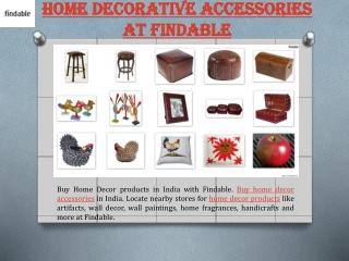 Decorative Home Accessories in India