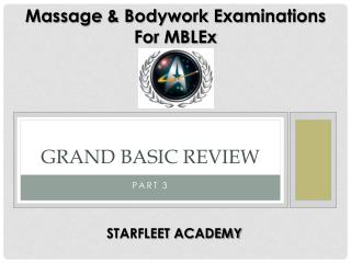 Grand Basic Review