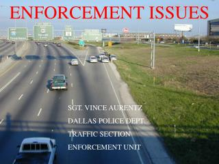 ENFORCEMENT ISSUES