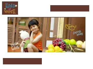 Kids at Work - Korean Photography for Baby, Toddler and Kid