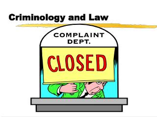 Criminology and Law