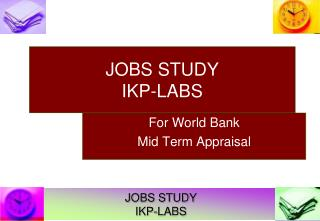 JOBS STUDY  IKP-LABS