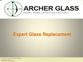 Expert Glass Replacement
