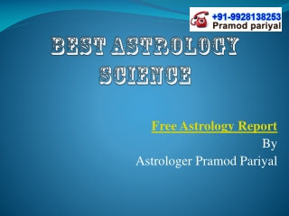 Best Astrology Science
