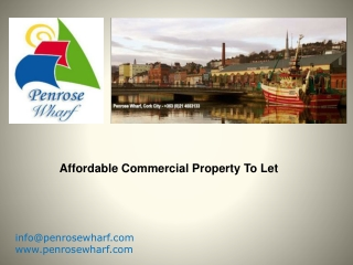 Affordable Commercial Property To Let