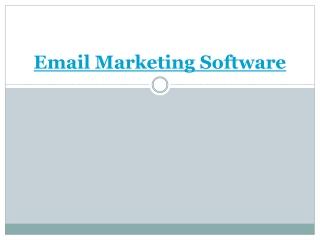 email marketing software | web design india