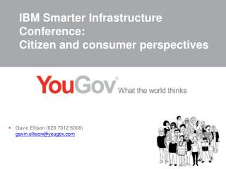 IBM Smarter Infrastructure Conference: Citizen and consumer perspectives