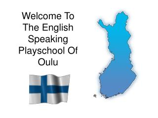 Welcome To The English Speaking Playschool Of Oulu