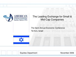 The Leading Exchange for Small & Mid-Cap Companies