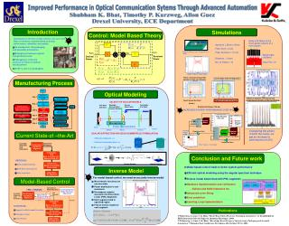 Improved Performance in Optical Communication Sytems Through Advanced Automation