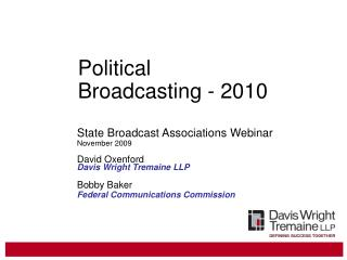 Political  Broadcasting - 2010