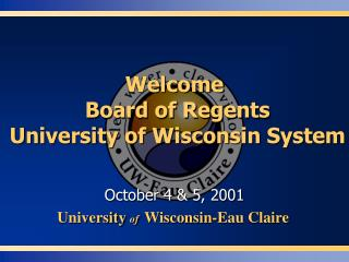 Welcome   Board of Regents   University of Wisconsin System