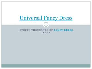 mens fancy dress costumes from universal fancy dress