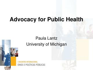 Advocacy for Public Health