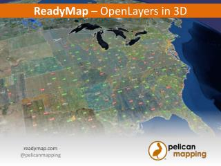 ReadyMap  –  OpenLayers  in 3D