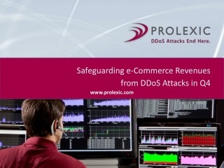 Safeguarding e-Commerce Revenues from DDoS Attcks in Q4