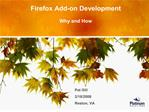 firefox add-on developmentfirefox add-on development