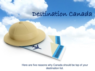 Travel tips, Nature in Canada