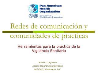 Redes de comunicación y comunidades de practicas