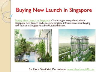 Buying Lakeside Condo New Launch in Singapore