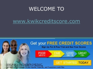 improve credit score report