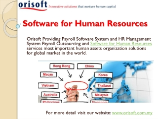 Hr software hrm system and payroll system solution in malays