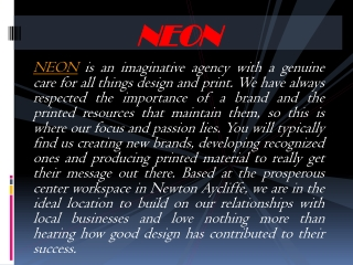 Information about the creative agency of graphic design and