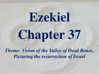 Ezekiel  Chapter 37