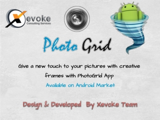Photo Grid - Free Picture Editor For Android
