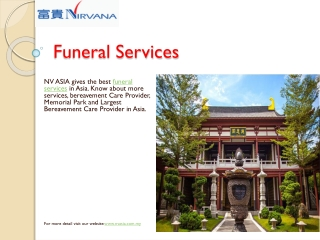 Best Funeral Services Provider in Malaysia