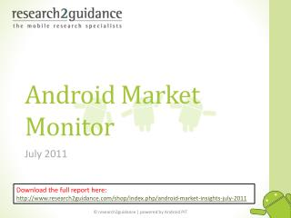 android market insights vol. 8